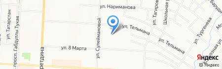 ЖЭУ № 7 на карте Альметьевска