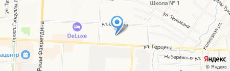 Экосип Кама на карте Альметьевска