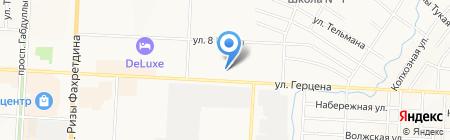 Банкомат Автоградбанк на карте Альметьевска