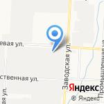 СТО№1 на карте Альметьевска