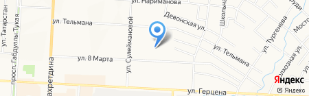 Альметьевский кожно-венерологический диспансер на карте Альметьевска