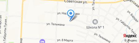 Детский сад №27 Нэни куллар на карте Альметьевска
