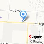 Киоск по продаже печатной продукции на карте Альметьевска