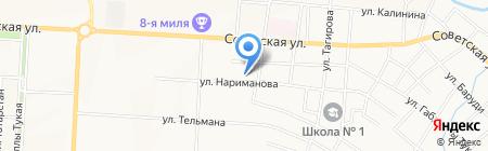 Детский сад №58 Шаян нэнилэр на карте Альметьевска