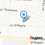 Иволга на карте Альметьевска