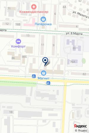 ТСЦ ЭЛЕКАМ на карте Альметьевска