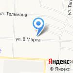 Магазин детской одежды и трикотажа на карте Альметьевска