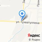 Тургай на карте Альметьевска