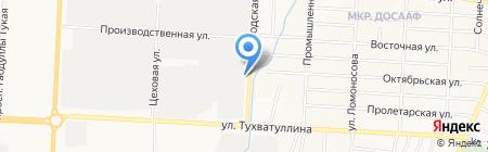 Столовая №10 на карте Альметьевска