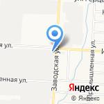 УАЗ на карте Альметьевска