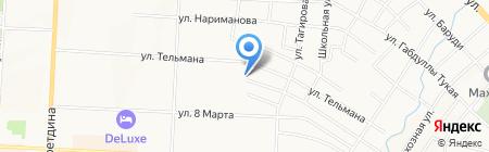 Почтовое отделение №1 на карте Альметьевска