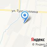 Сервисная нефтяная компания Акмаль на карте Альметьевска