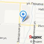 СтройАЛЬЯНС на карте Альметьевска