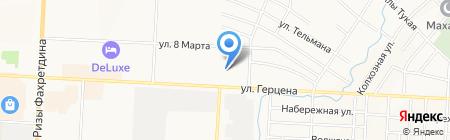 Детский сад №5 на карте Альметьевска