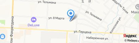 Детский сад №47 Энже бортеге на карте Альметьевска