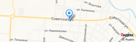 Виват на карте Альметьевска