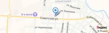 Альметьевский противотуберкулезный диспансер на карте Альметьевска