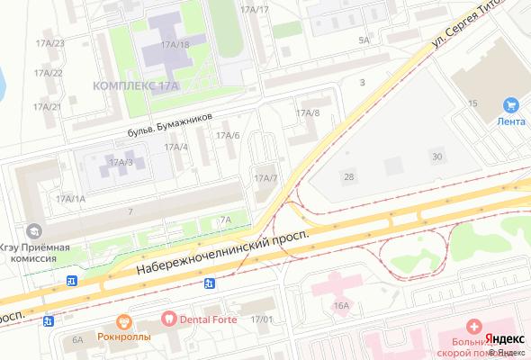 жилой комплекс пр. Набережночелнинский, 9