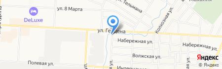 Огонек на карте Альметьевска