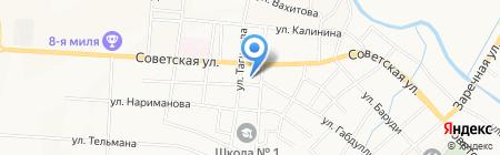 Детский сад №9 Садко на карте Альметьевска