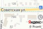 Схема проезда до компании Каскад в Альметьевске