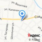 Отдел судебных приставов по Альметьевскому району на карте Альметьевска