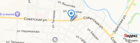2-че мечет на карте Альметьевска