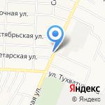 Витязь на карте Альметьевска