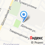 Идель на карте Альметьевска