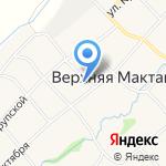 Верхне-Мактаминский сельский клуб на карте Альметьевска