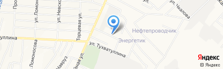 Натали на карте Альметьевска