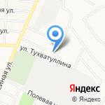 Изге ай на карте Альметьевска