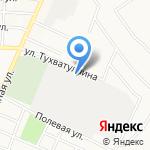 Альметьевский цех электросвязи на карте Альметьевска