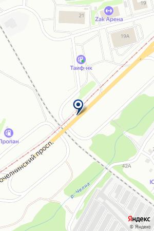 ПРОИЗВОДСТВЕННАЯ ФИРМА ВИСТ-СЕРВИС КАМА на карте Набережных Челнов