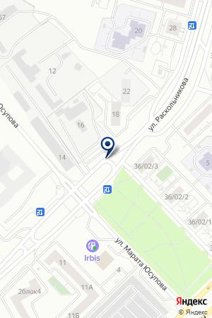 АВТОСТОЯНКА КОММОН на карте Набережных Челнов