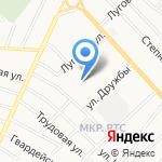 Елочка на карте Альметьевска