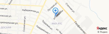 Язмыш на карте Альметьевска