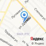 Почтовое отделение №3 на карте Альметьевска