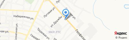 Зай на карте Альметьевска