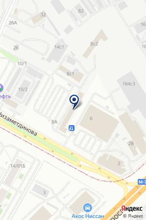 МАГАЗИН АВТОЗАПЧАСТЕЙ АВТОТЮНИНГ на карте Набережных Челнов