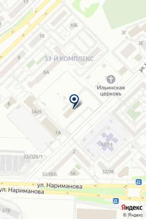ДОМ ДРУЖБЫ НАРОДОВ РОДНИК на карте Набережных Челнов