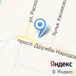 РИКАМСТРОЙ+ на карте Набережных Челнов