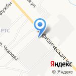 Альметьевское районное государственное ветеринарное объединение на карте Альметьевска