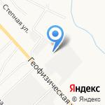 Парковка на карте Альметьевска
