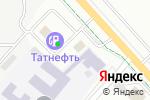 Схема проезда до компании Рэхэт в Альметьевске