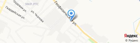 Рэхэт на карте Альметьевска