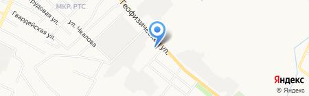 Средняя общеобразовательная школа №6 на карте Альметьевска