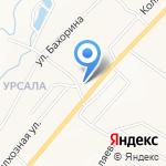Самара на карте Альметьевска