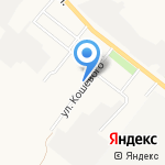 Спортивная школа по настольному теннису на карте Альметьевска