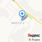 Почтовое отделение №4 на карте Альметьевска